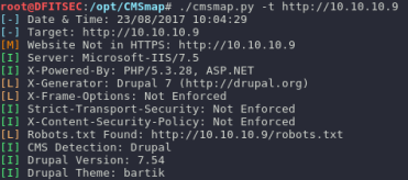 Penetration Testing] Drupal RCE / Win32k sys Kernel Exploit