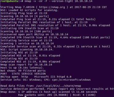 Penetration Testing] WebDAV IIS 6 0 / TCP/IP IOCTL Privesc – BLTSEC